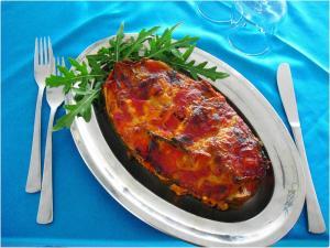Piatto Parmigiana Zucchine