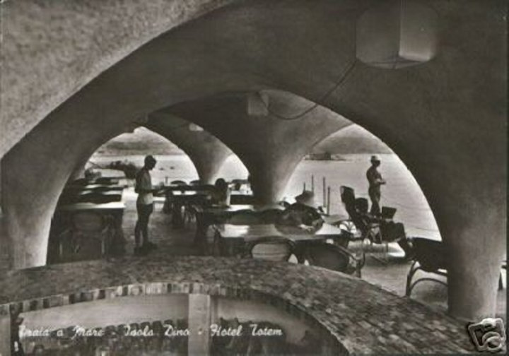 ristorante hotel Totem Isola Dino