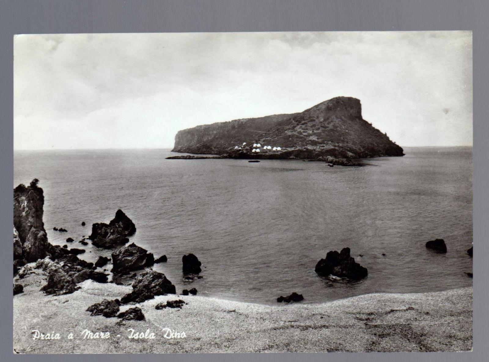 Cartolina Isola Dino 1950