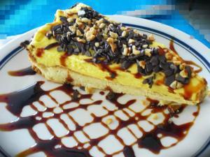 PIatto Dolce Crostata Crema Mascarpone
