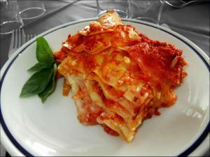 Piatto Primo Lasagne Pasta Sfoglia fatta mano