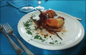Piatto Secondo Pesce Calamari Ripieni